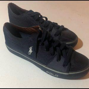 Men's Polo Ralph Lauren Cantor Canvas Sneakers 9D